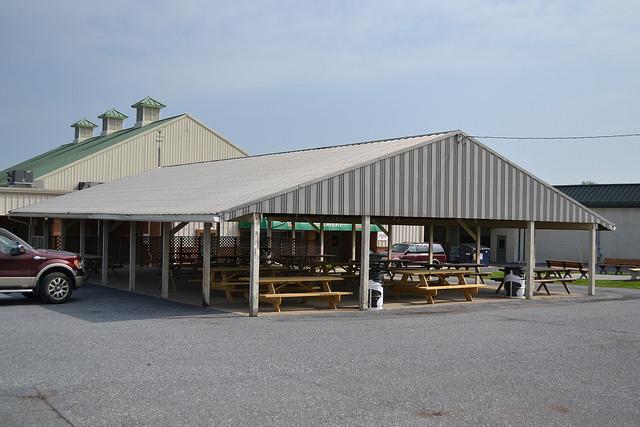 Lebanon valley exposition center fairgrounds facilities for Open pole barn