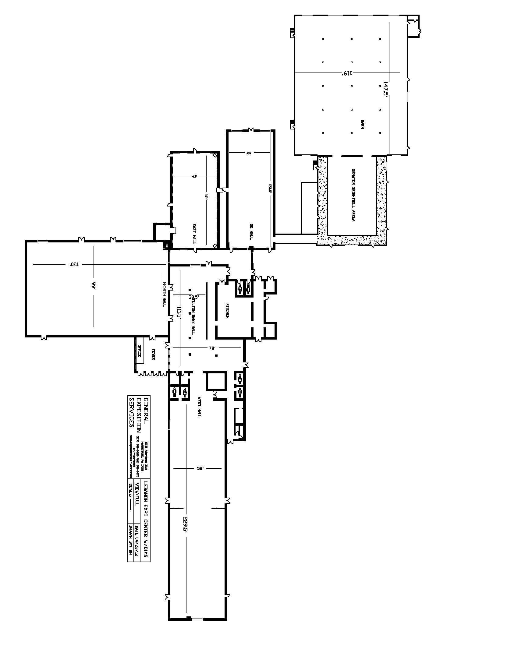 Enclosed Buildings - Complete Floor Plan